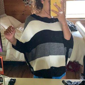 A knit Loft sweater